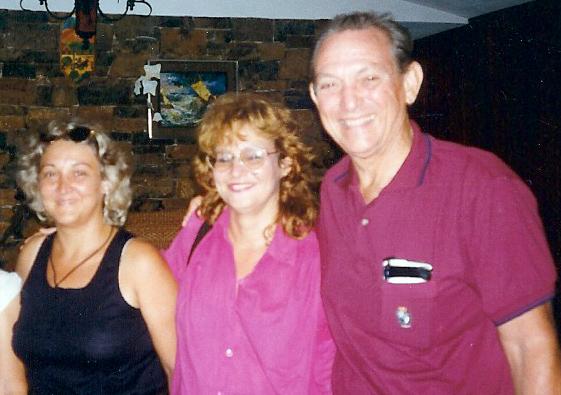 Marlene, Maritza y José Moleón