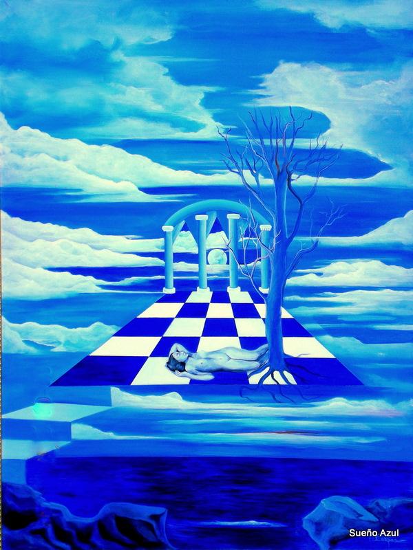 Sueño azul de Merlys Corvas