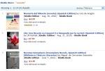 La novela Memoria del Silencio de Uva de Aragón en el No. 1 de las novelas en español de Kindle Store