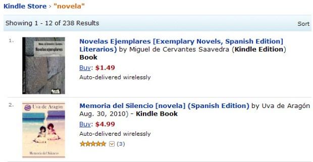Memoria del Silencio No. 2 en novelas de Amazon