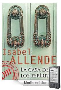 La casa de los espíritus, de Isabel Allende. Edición kindle, $4.79