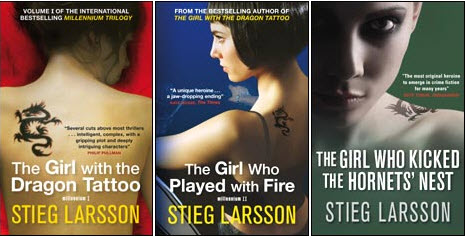 La trilogía de Larsson lleva más de 5 años en las listas de libros más vendidos