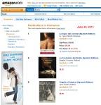 La Mujer del coronel, bestseller en Amazon