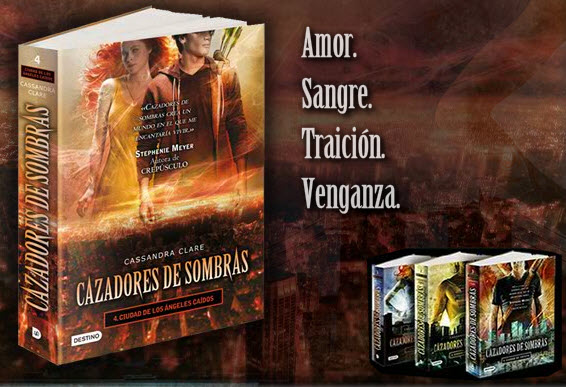 Cazadores de sombras, de Cassandra Clare, número 1 en México