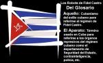 Del Glosario Los Robots de Fidel Castro
