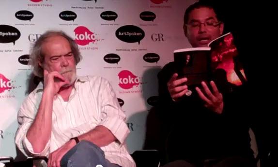 Yoshvani Medina lee Un ciervo herido en El DesalmuerzoLiterario