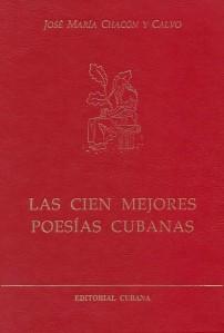 Las cien mejores poesías cubanas