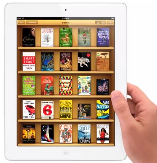 Apple acusada de conspirar para controlar los precios de losebooks