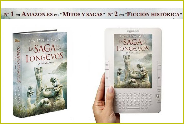Otra historia de éxito en Amazon: La saga de loslongevos