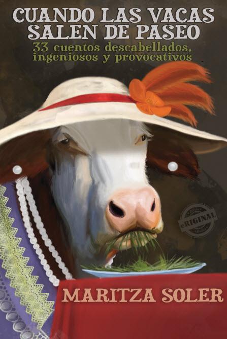 Cuando las vacas salen de paseo, pintura del ilustrador y animador canadiense Brennan Bova