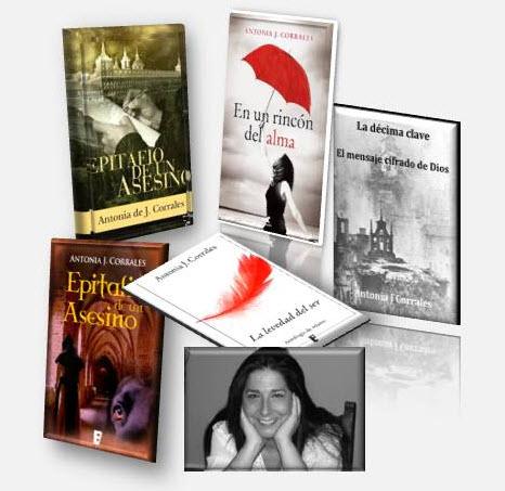 Antonia J. Corrales es también una escritora exitosa en el genero thriller