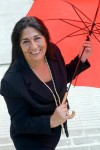 """Todo tiene un sentido en esta vida, mi paraguas también lo tenía. Estaba allí, en el paragüero esperando su momento: que escribiese """"En un rincón del alma"""". Foto Elena Delestal"""