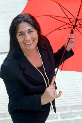 El paraguas rojo de Antonia J.Corrales