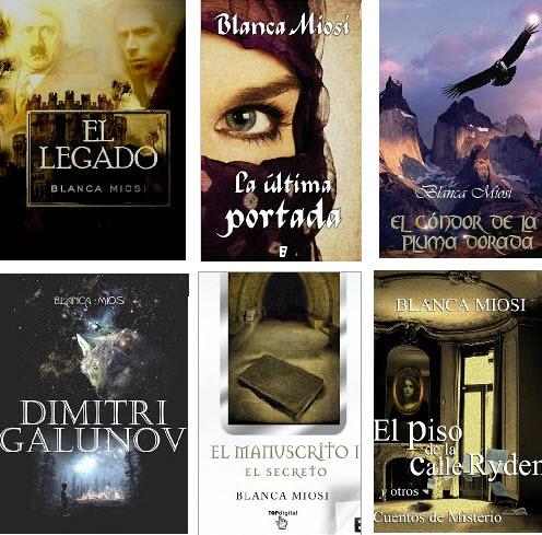 Todas las obras de Blanca Miosi han estado en las listas de bestsellers