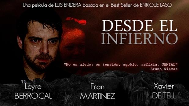 """""""Desde el infierno"""" filme basado en la novela de Enrique Laso"""