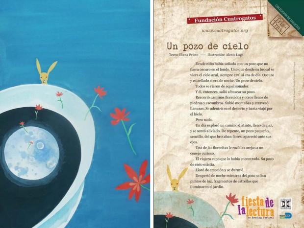 Postal Tris-Tras. Texto: Iliana Prieto. Ilustración: Alexis Lago
