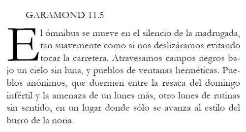 TIPOGRAFÍA: 5 FONTS – TIPOS DE LETRAS PARA EL TEXTO DE UN LIBRO ...