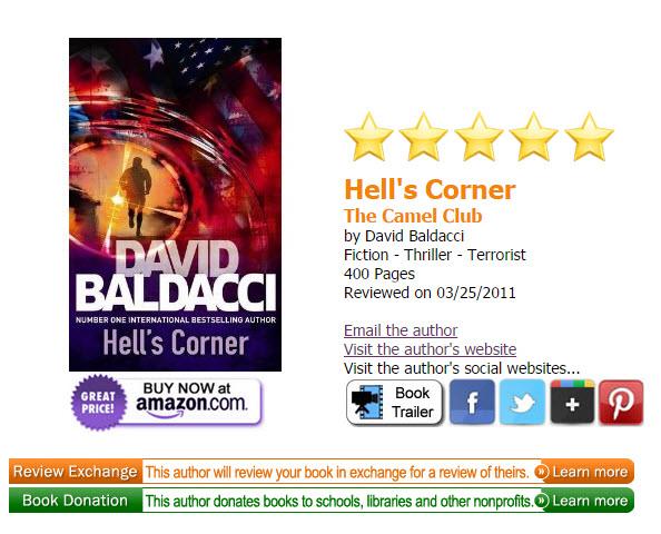 No solo los autores independientes están dispuestos a intercambiar reseñas. David Baldacci es un reconocido autor best seller de Amazon.