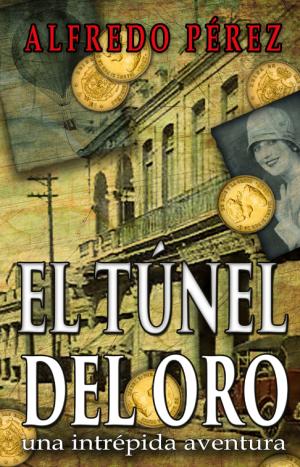 El túnel del oro, novela de Alfredo Pérez en preventa en Amazon por $0.99. Diseño de portada: Ernesto Valdes