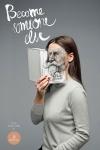 """Proyecto del diseñador gráfico Gediminas Saulis quien destaca que """"cuando uno lee los libros, la persona se identifica (o no) con lo que vive el héroe principal"""". Estos anuncios impresos para la librería de Casa de la Moneda Vinetu."""