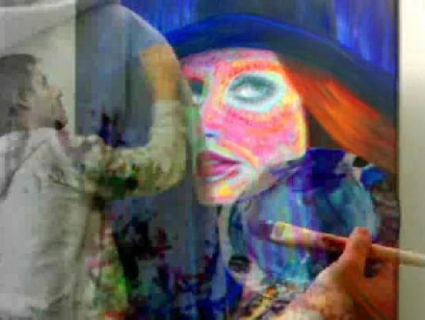 Escribí El pintor de palabras: Una declaración de amor que trasciende a este y se convierte en arte