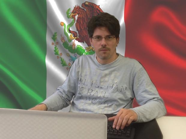 Fernando Trujillo Sanz en viaje aMéxico
