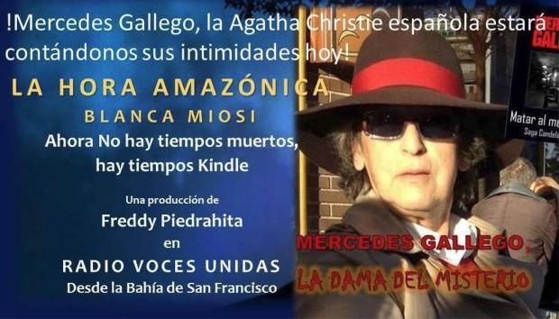 La hora amazónica No. 16: Mercedes GallegoMoro