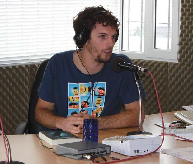 Cristian Perfumo, autor de novelas de misterio ambientadas en la Patagonia y además doctor en computación es uno de los creadores de Ebrolis