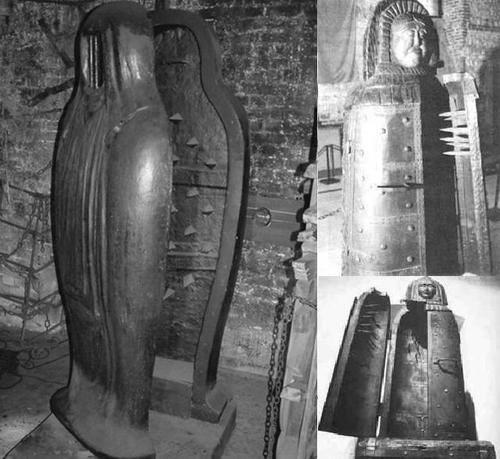 Uno de los artefactos de tortura que se describen en la novela