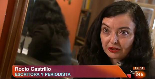 Rocio Castrillo en Cultura en 24 h, de la Radio y Televisión Española