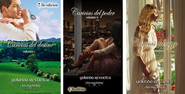 Tres novelas románticas de Yolanda Revuelta en el Top 20 deAmazon