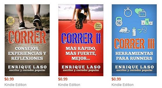 Ethan Bush como su autor Enrique Laso son corredores