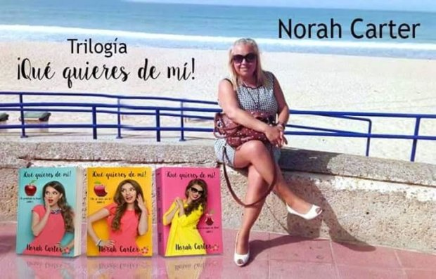 LA ESCRITORA NORAH CARTER:  ROMPE RECORDS DE VENTAS EN AMAZON